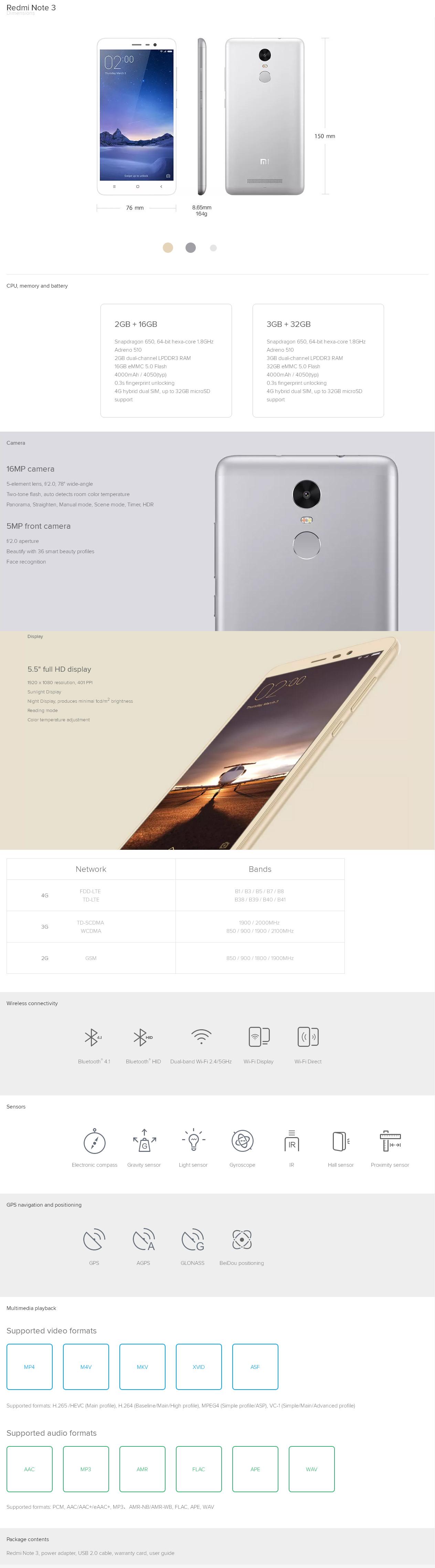 redminote3 Xiaomi Redmi Note 3